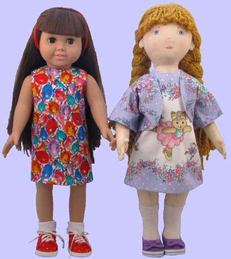 Kitty Dolls in A-line dresses and jacket