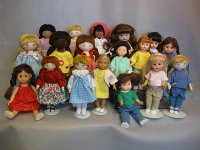 All Sherralyn's dolls