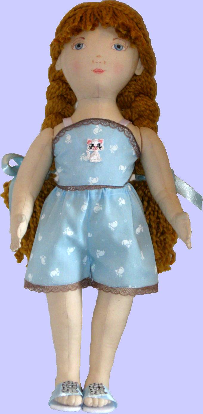 ... Dolls - Sewing Patterns for Cloth Dolls, Doll Clothes, and Accessories
