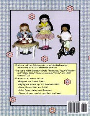Sew a Small Doll and Her Clothing Back Cover