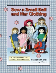 Sew a Small Doll and Her Clothing