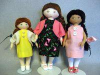 Doll wearing A-line Dress
