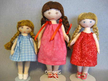 Doll wearing Sundress