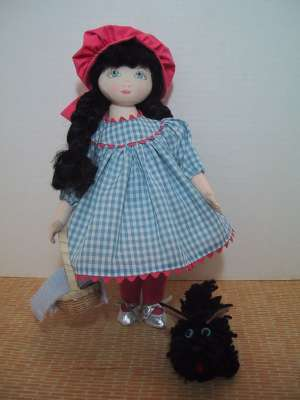 Dorothy in prairie dress