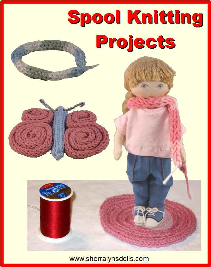 Spool knitting projects