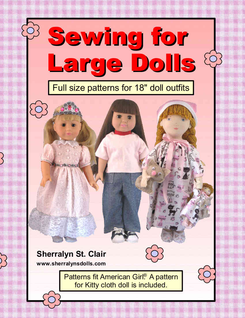 Sherralyn\'s Dolls » eighteen inch doll clothes patterns