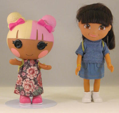 Knitting Pattern For Dora The Explorer Doll : Sherralyn s Dolls   Patterns for Dora the Explorer